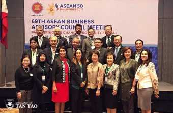 TTU President Dang Thi Hoang Yen Attends 69th ASEAN Business Advisory Council Meeting in Philippines